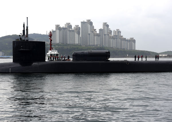 ПЛАРК USS Michigan (SSGN 727)