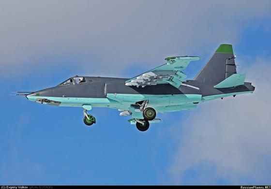 ВВС России продолжат модернизацию штурмовиков Су-25 к версии Су-25СМ3